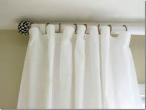 Cut Your Own Blinds How To Make A Curtain Rod And Finials With A Tennis Ball