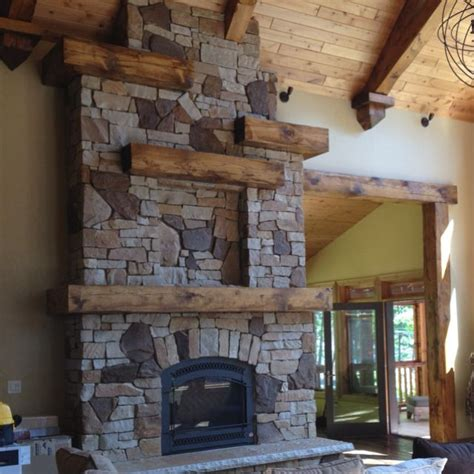Cabin Fireplace Mantels by Cabin Fireplace