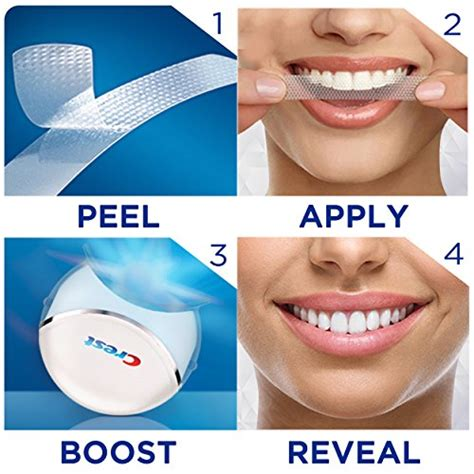 crest  white whitestrips  light teeth whitening kit