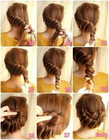 step by step womens hair cuts 9 step by step beautiful hairstyles all for fashion design