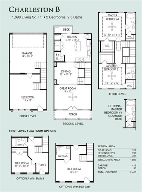 floor plan live charleston b live work floor plans regent homes