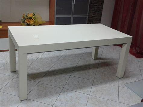tavoli doimo tavolo rettangolare 180x90 fisso laccato avorio modello