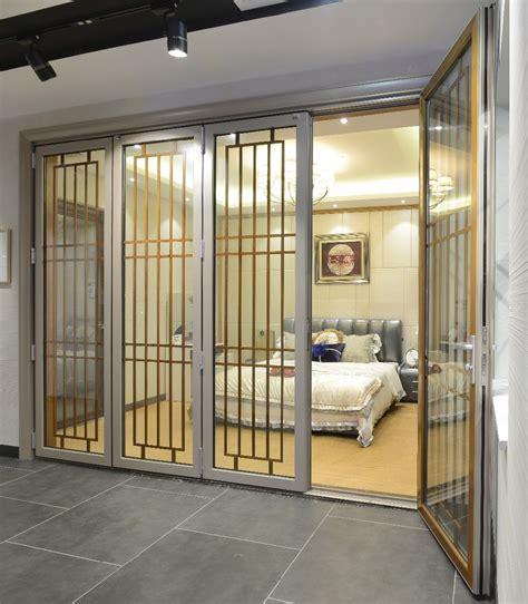 Large Folding Glass Doors Price Large Size Aluminum Glass Room Divider Sliding Folding Doors Buy Aluminum Sliding