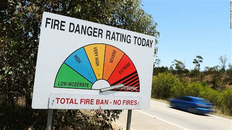 s day rating australia firefighters battle blazes on dangerous day in australia