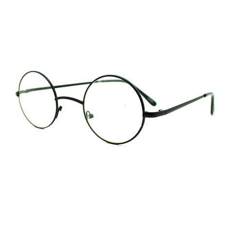 metal frame 70 s circle lens eyeglasses ebay
