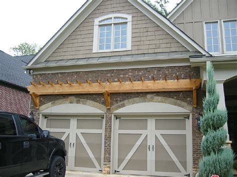 Pergola Garage by Top 25 Ideas About Garage Door Trellis Or Arbors On
