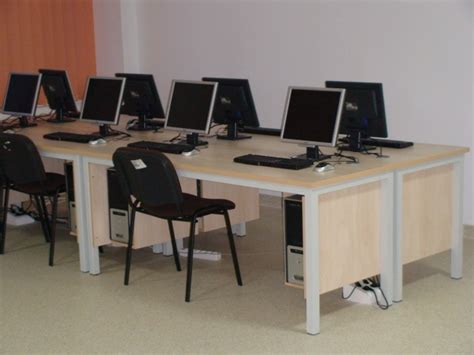 design cyber cafe furniture sibel sibiu mobilier metal shelving systems