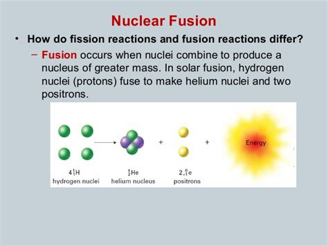 Fission Vs Fusion 5 9 Fission Vs Fusion And Nuclear Energy
