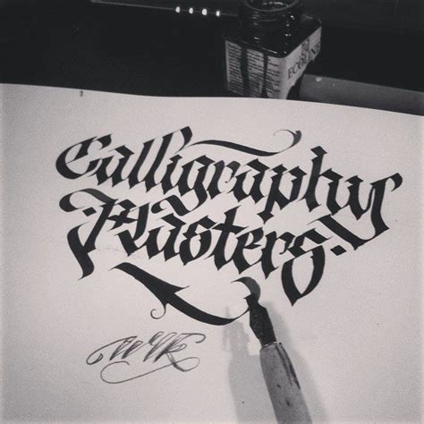 tattoo lettering master calligraphy masters wlk calligraphy lettering