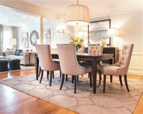 Area rug dining room