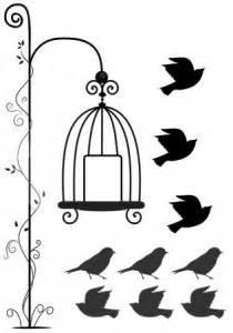 Pássaros fora da Gaiola (Liberdade) | Toppo Adesivos