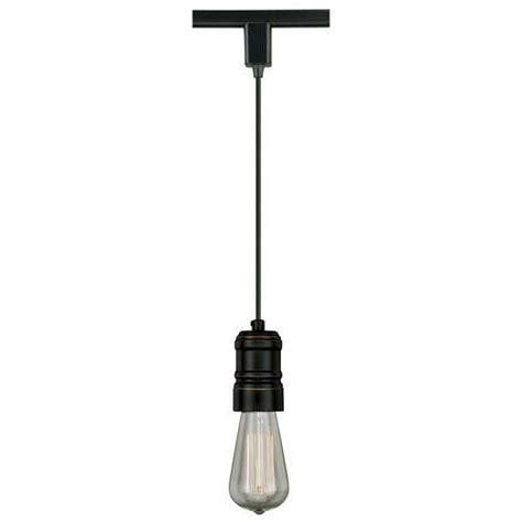 Pendant Track Light Fixtures Bronze Oxidized 1 Light Track Light Pendant Ebay