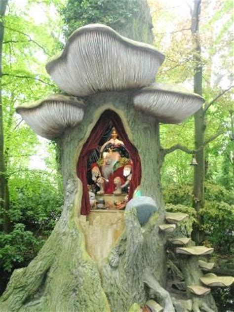 in the fairy tale forest the efteling theme park in the