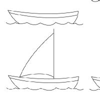 how to draw a kayak boat boat