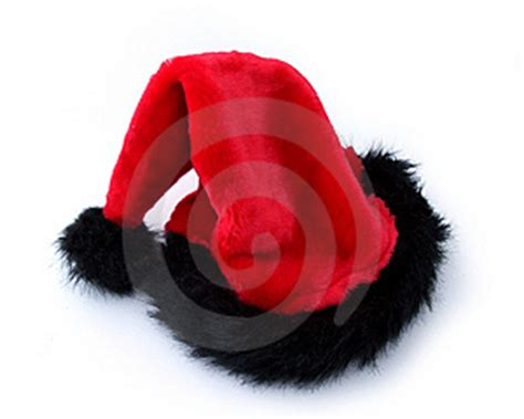 santa hat in black stock images image 4346294