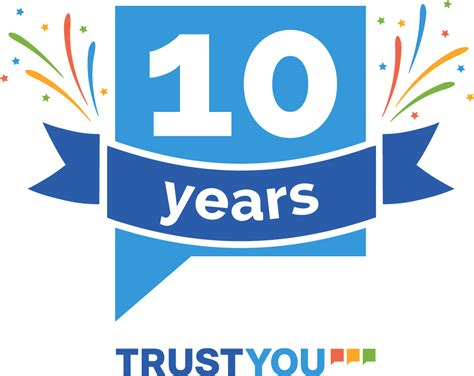 10 year anniversary color trustyou celebrates its 10 year anniversary special