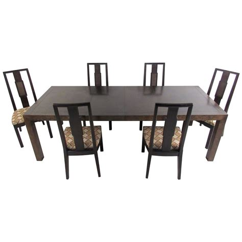 mid century modern dining room set by stuart for sale
