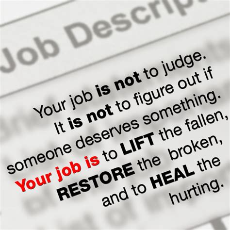 Your Is Not Your Career your is not to judge sermonquotes
