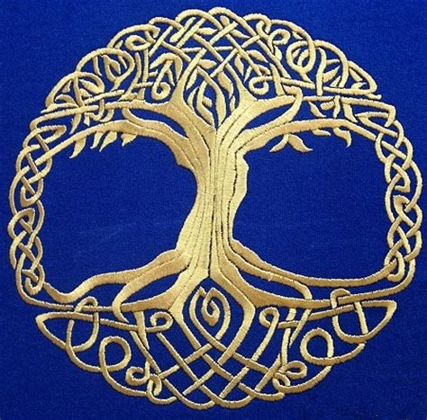 Advanced Embroidery Designs Celtic Tree Of Life Celtic Designs