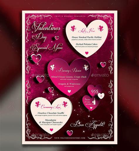 41 valentines menu templates free psd eps format
