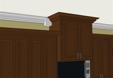 Kitchen Cabinet Crown Molding Fabulous Kitchen Cabinets With Crown Molding Pictures Design Ideas Dievoon