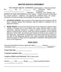 contract template for services agreement master service agreement 13 free documents in