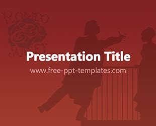 Free Powerpoint Templates Free Powerpoint Templates Romeo And Juliet Powerpoint Template