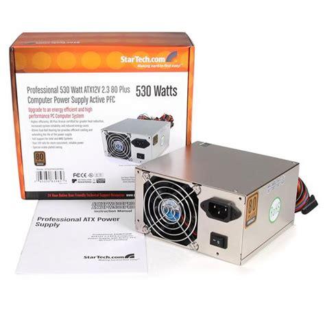 Power Supply Atx Spc 530 Watt 80 plus bronze power supply 530 watt atx12v 2 3 with