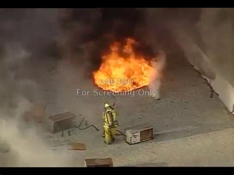 Anaheim Roof Operations Call Firefighter