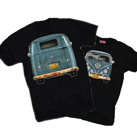 Tshirt Vw Black 2 vw t shirt bay window cer samba t1 t2 t3 t4 t5