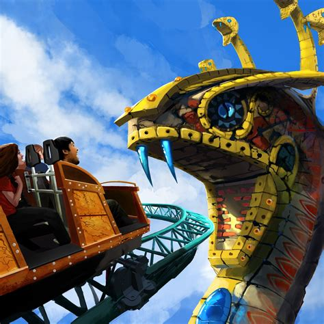 Busch Gardens Ta Rides by Newsplusnotes Get In The Cobra S Curse At Busch
