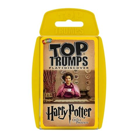 best harry potter harry potter the order of the top trumps