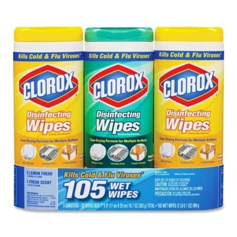 wholesale clorox company disinfecting wipes  pack white sku  dollardays