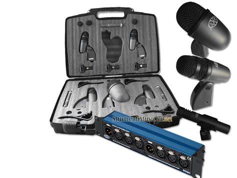 Proel Drumset Microphone Kit Dmh85 set microfoni per batteria xd02 set 8 microfoni mixer per batteria