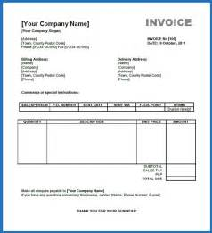 Free Sle Invoice Template Word sale invoice template excel studio design gallery