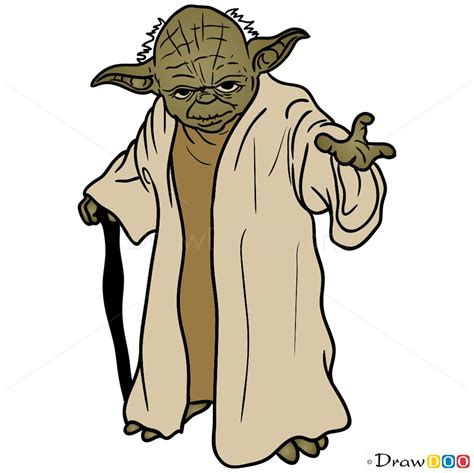 Drawing Yoda by How To Draw Yoda Wars