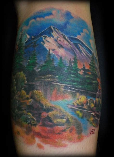 mountain tattoo 50 mountain tattoos tattoofanblog