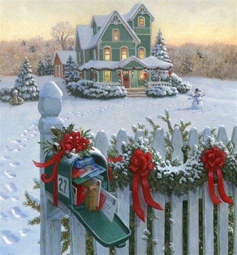 Country Cottage Cross Stitch A Winter Scene Holiday Scenes Pinterest