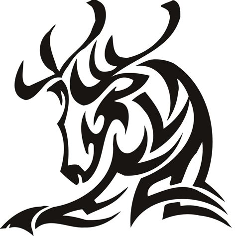 tribal deer head tattoos deer tattoos designs ideas and meaning tattoos for you