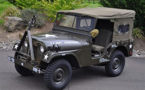 korean war jeep 1953 willys military army m38a1 jeep for sale photos