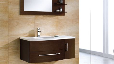 adornus aden 43 inch contemporary white bathroom vanities