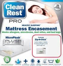 Clean Rest Mattress Encasement by 15yr Warranty Clean Rest Simple Bed Bug Allergen