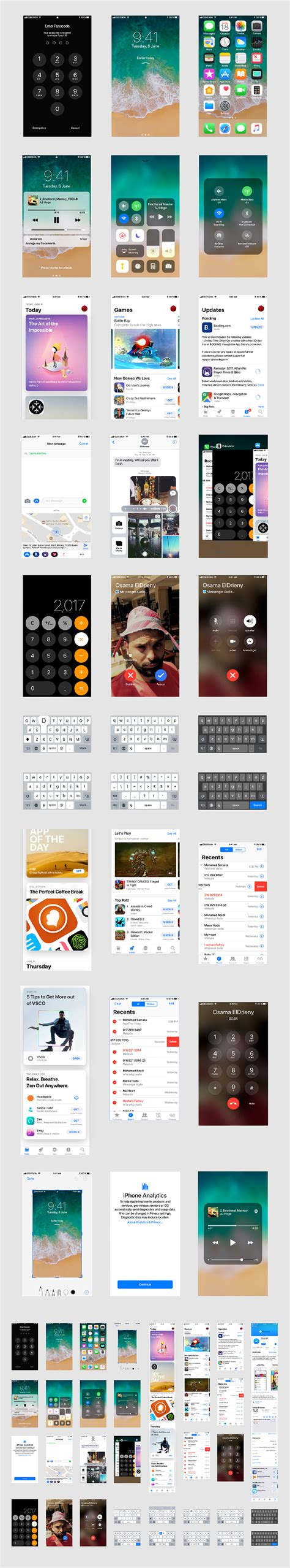 Iphone X Mockup Ios 11 Gui For Adobe Xd Freebie Supply Adobe Xd Templates Ios