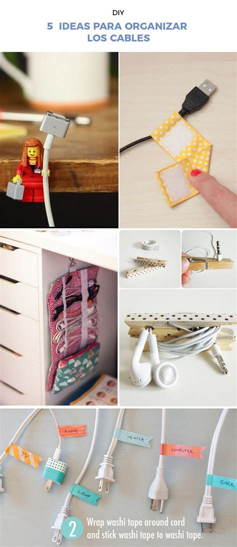 ideas matri on pinterest 31 pins 5 ideas para organizar los cables f 225 cil y sencillo