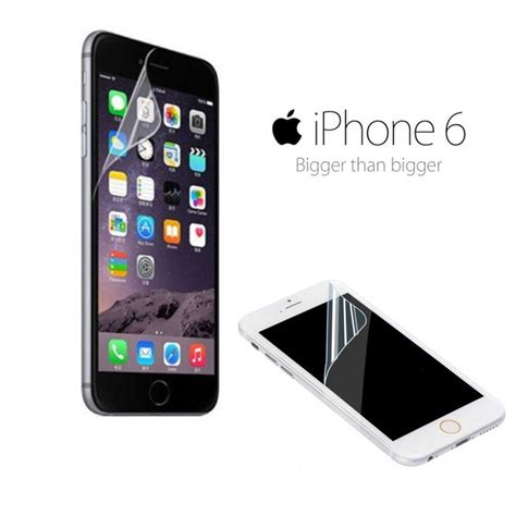 Lcd Iphone 6 Di Bali lcd clear front screen protector skin cover for
