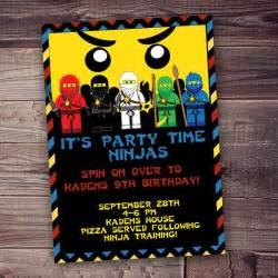 ninjago inspired lego clipart invitation free wording customization on etsy 10 79 cad a s
