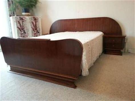 bett 50er jaren 50 bed vintage retro pastoe palissander