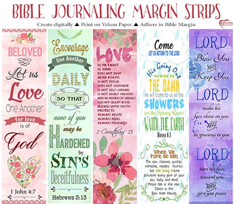 What Is Bible Journaling Biblejournallove Com Vistaprint Bookmark Template