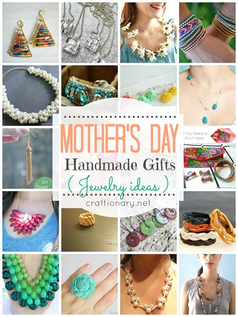 Handmade Mothers Day Gifts - craftionary