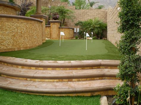 how to improve your backyard how to improve your golf game with a backyard golf green artificial grass news